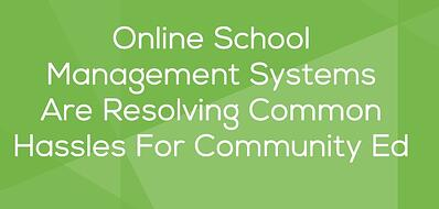 Online School Management Systems