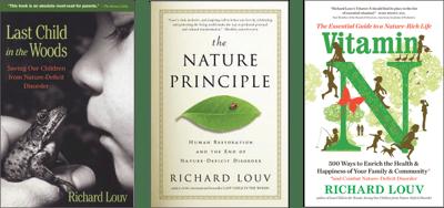 Richard Louv Book Covers