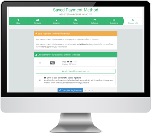 FP Saved Payment Method in PC