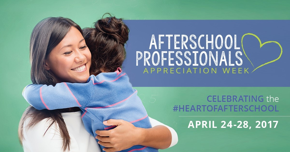 We're joining Afterschool Professionals Appreciation Week