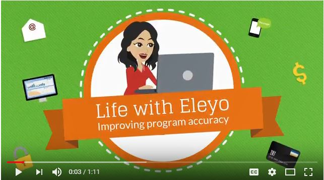 Eleyo helps program improve data accuracy