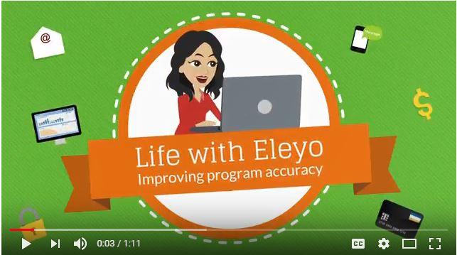 Eleyo helps program improve data accuracy
