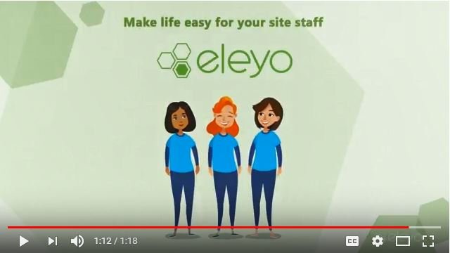 Eleyo makes life easier for site staff
