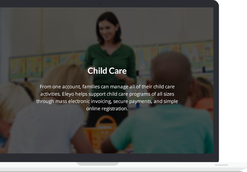 Eleyo's child care module